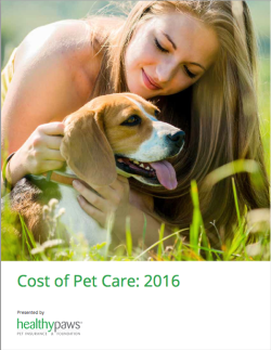 Healthy Paws Cost of Care Report